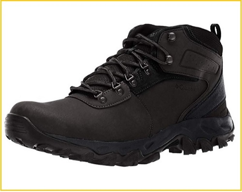 Columbia Men's Newton Ridge Plus II waterproof leather boots