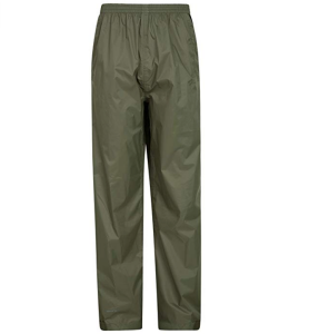 Mountain Warehouse Pakka Mens Rain Pants - Waterproof Overpants