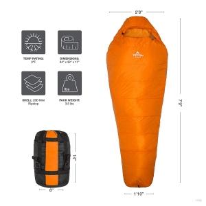 Teton Sports Altos Ultralight Mummy Sleeping Bag