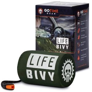 Go Time Gear Life Bivy Emergency Sleeping Bag Thermal Bivvy
