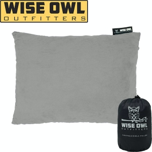 Wise Owl Outfitters Camping Pillow Compressible Foam Pillows