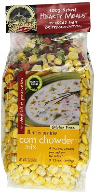 Frontier Soups Hearty Meals Illinois Prairie Corn Chowder Mix