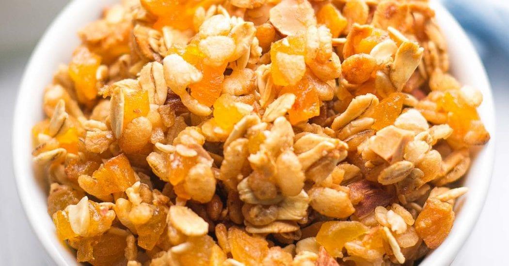 Healthy Trail Mix Granola